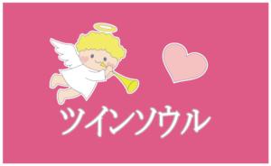 天使のツインソウルのイラスト
